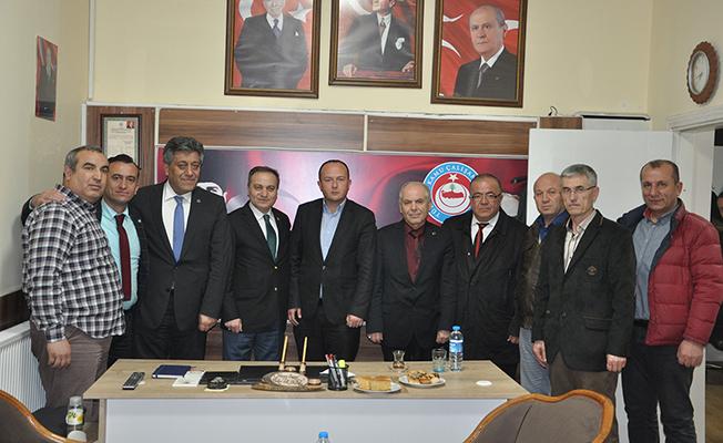 Genel Başkan Albayrak'tan TÜRKAV'a Ziyaret