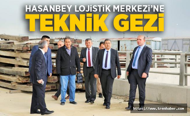 Hasanbey Lojistik Merkezi'ne Teknik Gezi
