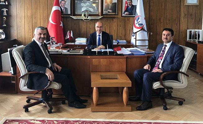 Kayseri'nin demiryolu projeleri masaya yatırıldı