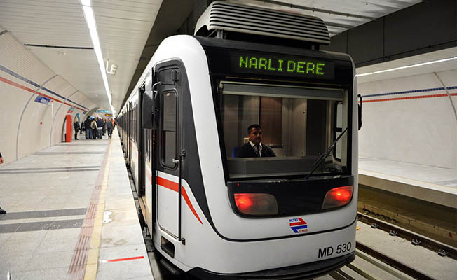 Narlıdere Metrosu'nda Yeni Tarih 13 Nisan