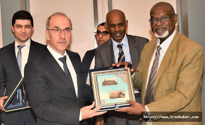 Sudan Demiryolları Heyetinden TCDD'ye  Ziyaret