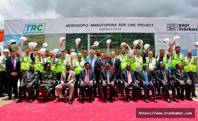 Yapı Merkezi, Tanzanya'da Demiryolu Projesi'nin temelini attı
