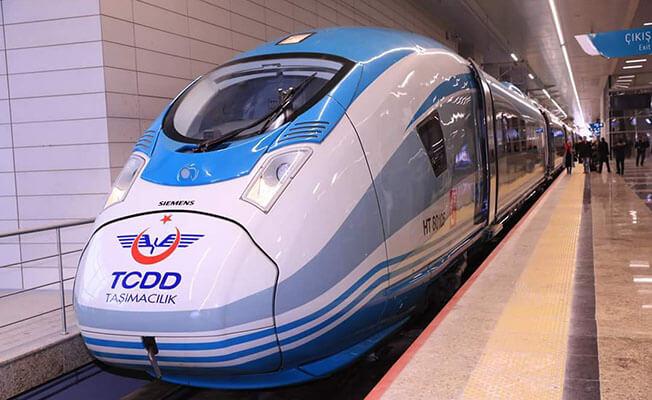 Bakan Arslan'dan Bursa'ya Hızlı Tren Müjdesi