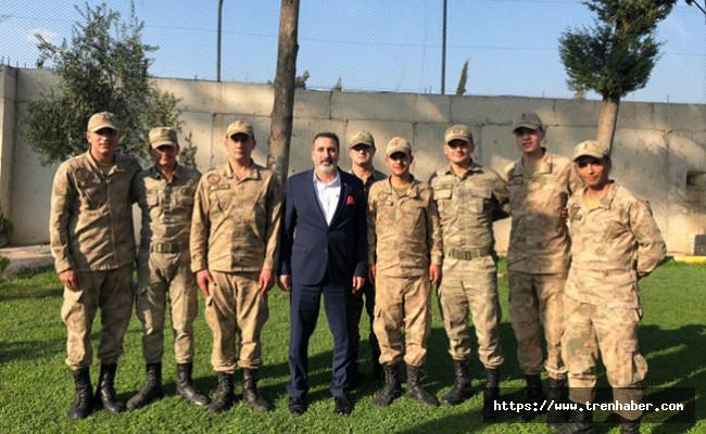 Cankesen'den Jandarma Karakoluna Ziyaret