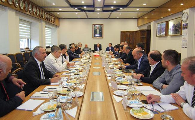 Milli teker seti üretim toplantısı gerçekleştirildi