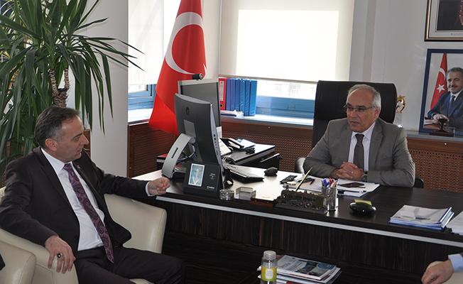 Türk Ulaşım-Sen'den İbrahim Yiğit'e Ziyaret