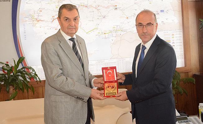 Mehmetçik Vakfından TCDD'ye Ziyaret