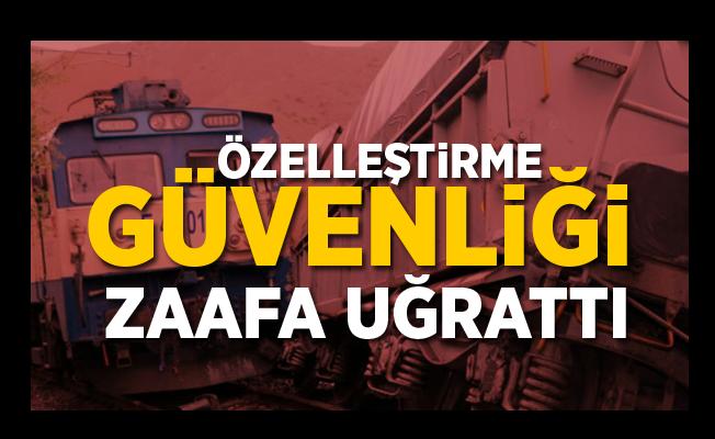 """Malatya'daki Tren Kazası: """"Özelleştirilme Demiryolu Güvenliğini Zaafa Uğrattı"""""""