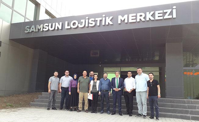 Alaçam MYO'dan Samsun Lojistik Merkezini Ziyaret