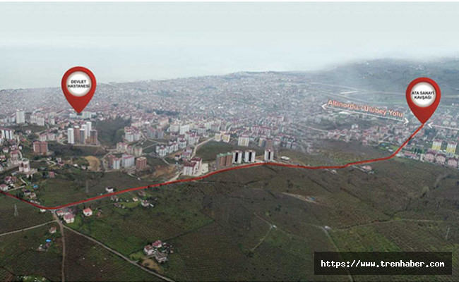 Altınordu'ya Yeni Çevre Yolu!