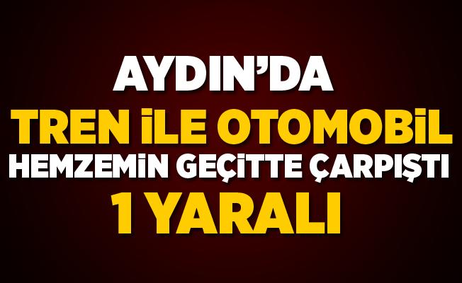 Aydın'da Hemzemin Geçitte Kaza: 1 Yaralı