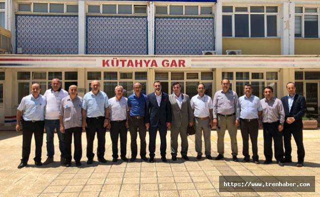 Başkan Cankesen, Kütahya'da üyeleri ile bir araya geldi