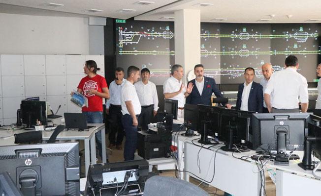 Başkan Cankesen, TCDD Ankara Garı Ziyaret Etti