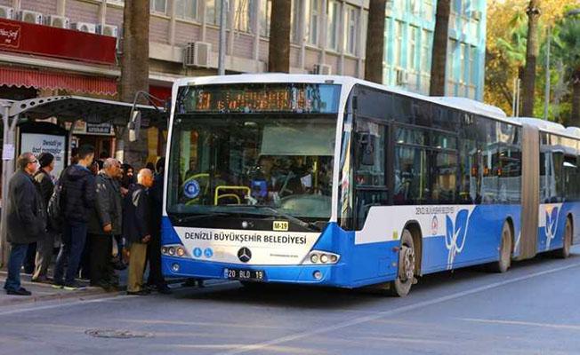 Denizli'de Otobüsler YKS'ye Gireceklere Ücretsiz