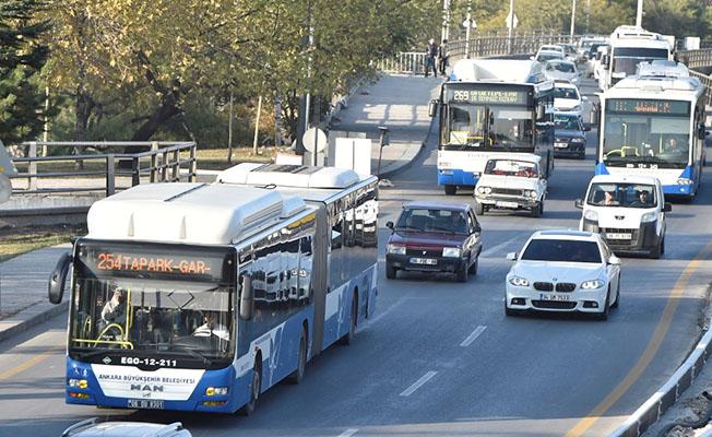 Ankara'da EGO Otobüsleri Bayramda Ücretsiz