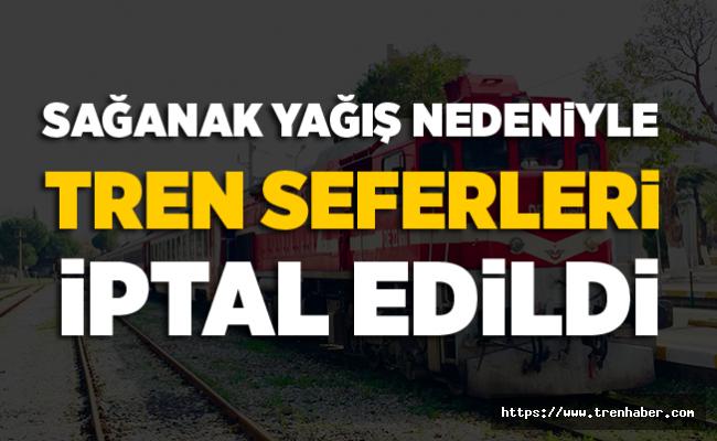 İzmir-Bandırma Tren Seferleri İptal Edildi!
