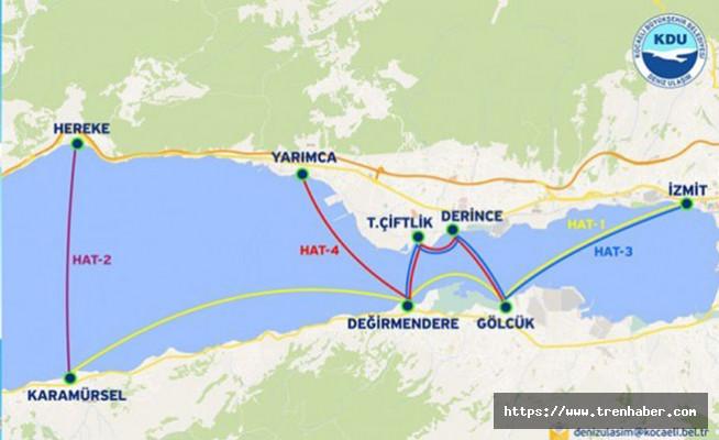 Kocaeli Deniz Ulaşımında Tarifesi Başlıyor! İşte Saatler