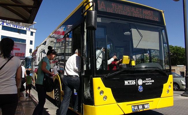 Malatya'da Toplu Taşıma Araçları Bayramda Ücretsiz