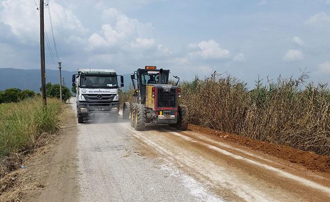 Muğla Büyükşehir 2018 Yılında 268 Km Yol Çalışması Yapacak
