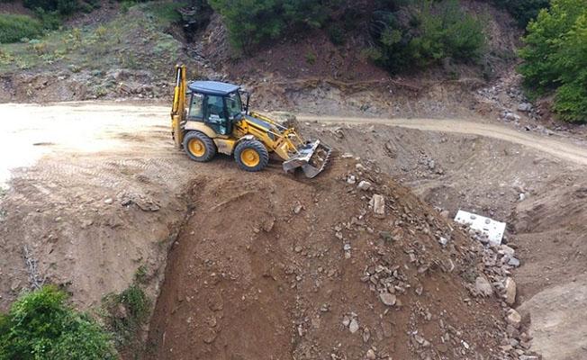 Manisa'da Selin Yıktığı Köprü Bir Günde Yeniden Yapıldı