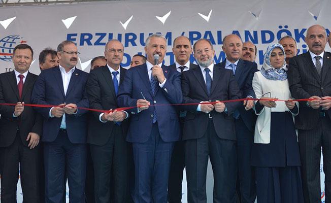 """TCDD'nin 9. Lojistik Merkezi """"Erzurum Palandöken Lojistik Merkezi"""" açıldı"""
