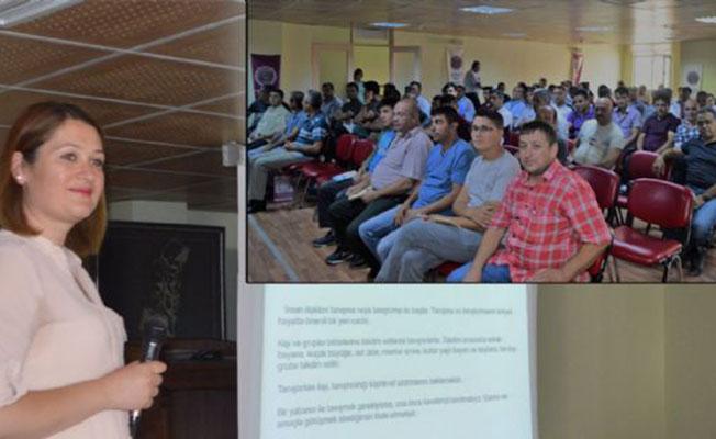 Afyonkarahisar'da Otobüs şoförlerine 'İletişim Becerileri' eğitimi