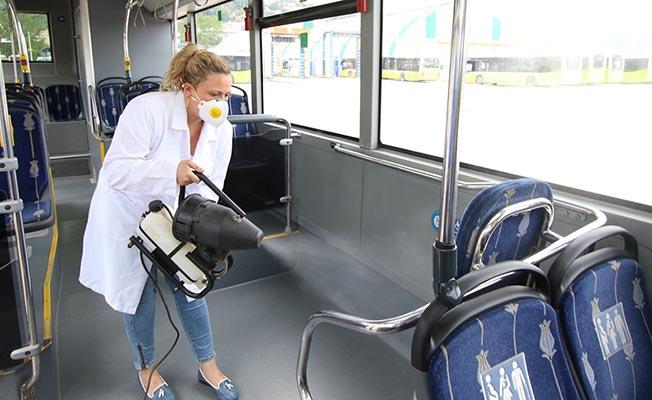 Belediye Otobüslerinde Nano Teknoloji Temizlik