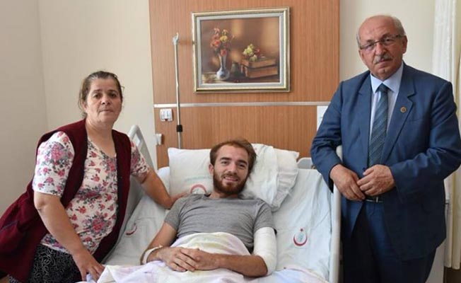 Çorlu'daki tren kazası yaralılarına ziyaret