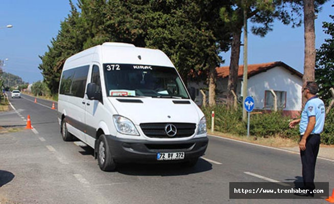 Gazipaşa'da Toplu Taşıma Araçlarına Klima Denetimi