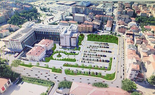 Kocaeli Devlet Hastanesi'ne 310 Araçlık Otopark