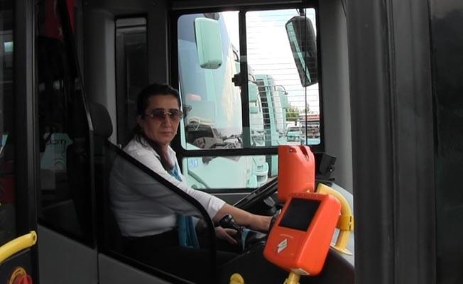 Manisa'da Kadın Otobüs Şoförü Hayat Kurtardı
