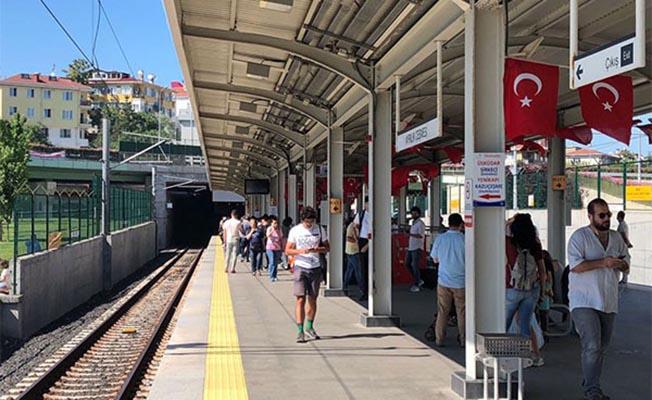 Marmaray ve Başkentray demokrasi nöbetindeydi