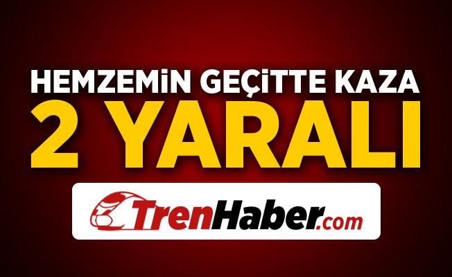 Osmaniye'de hemzemin geçitte kaza! 2 Yaralı