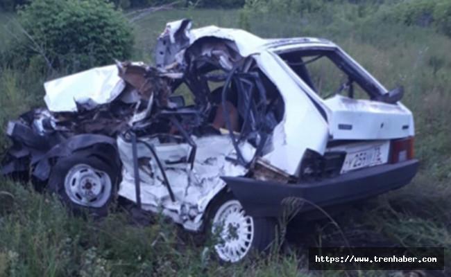 Tataristan'da Tren Kazası! 4 Ölü