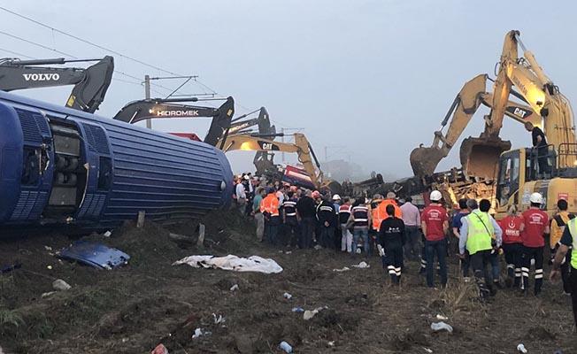 TCDD Taşımacılık'tan Başsağlığı Mesajı (Çorlu'daki Tren Kazası)