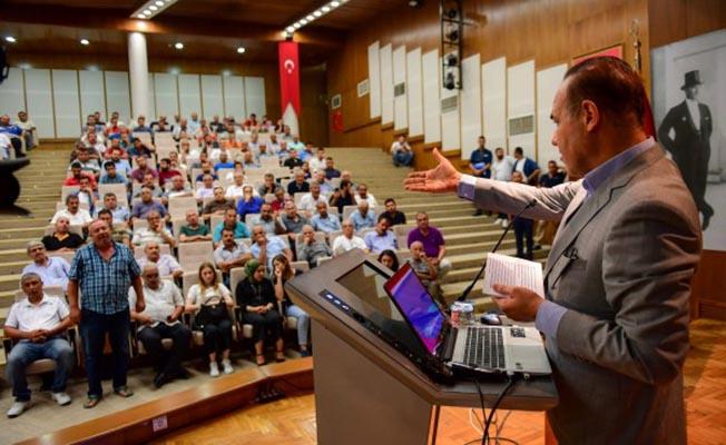 Adana'da Toplu Taşıma Şoförleri Eğitimi Başladı