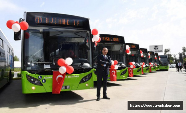 Adana'da Toplu Taşıma Bayram Boyunca Ücretsiz