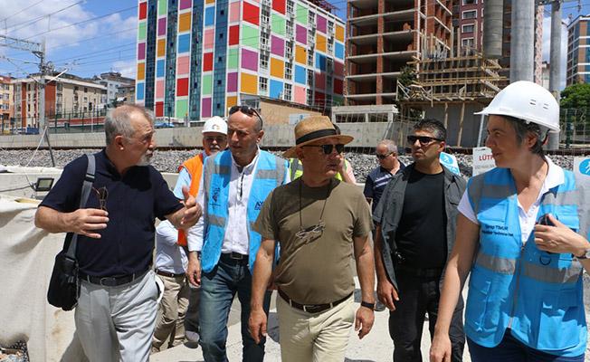 Kartal Belediye Başkanı Öz, Marmaray Çalışmalarını İnceledi