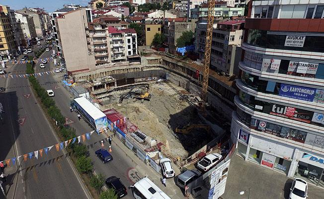 Trabzon'da Tam Otomatik Katlı Otopark Yapımına Başlandı