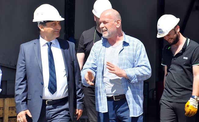 TÜDEMSAŞ Genel Müdürü Başoğlu Khan Dövme Firmasını Ziyaret Etti