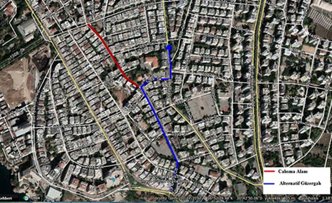 Antalyalılar Dikkat! 19 Mayıs İle Tınaztepe Caddesi Arası 5 Gün Trafiğe Kapanıyor