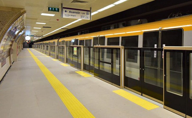 Çekmeköy-Yamanevler Metrosu'na 4 Gün Ara Verilecek