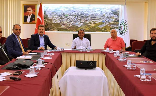 Denizli Milletvekili Yıldız'dan, OSB'ye ziyaret