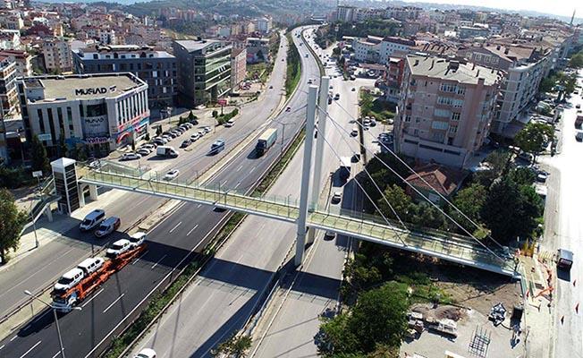 Gebze'deki Köprüyle Yayalar Daha Güvende Olacak