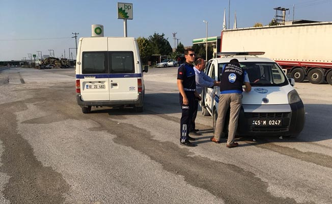 Manisa'da Korsan Taşımacılığa Geçit Yok