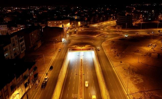 Gaziantep'te 5 Mahalleyi Birbirine Bağlayan Köprülü Kavşak, Trafiği Rahatlattı