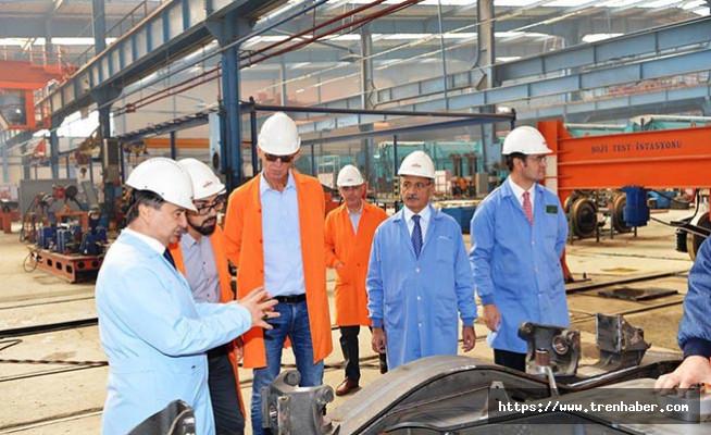 Rail Cargo Yönetimi TÜDEMSAŞ'ı Ziyaret Etti