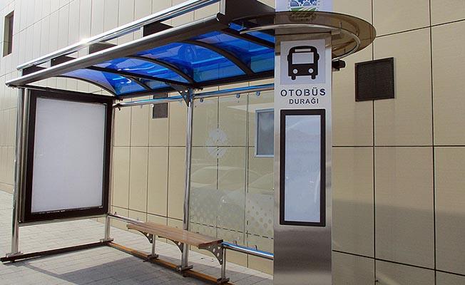 Büyükşehir'den 360 Adet Modern Otobüs Durağı