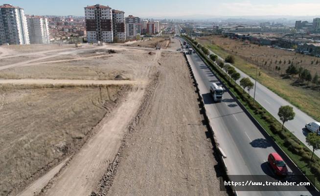 Sincan OSB-Yenikent Arasında Çalışmalar Aralıksız Sürüyor