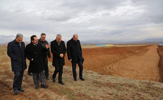 Sivas Demirağ OSB'de Çalışmalar Devam Ediyor